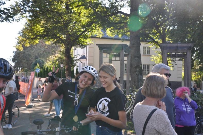 Emma, Heidi Klarälvsloppet Krama era barn