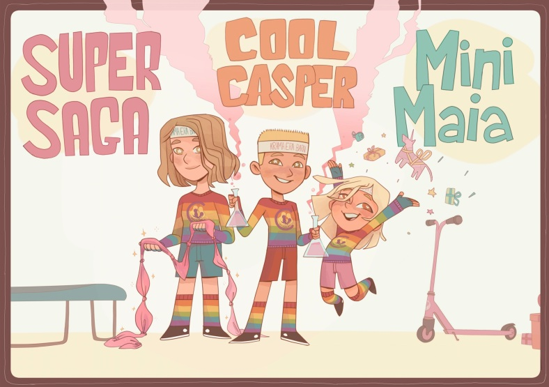Supertrion Saga, Casper, Maia